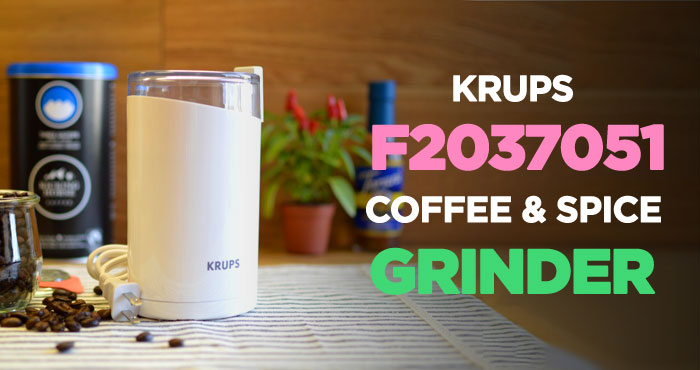 Krups F2037051 Blade Coffee Grinder Review
