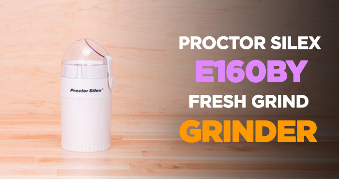 Proctor Silex E160BY Coffee Grinder Review: Top Rated Blade Grinder