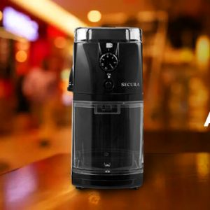 Secura Automatic Electric Burr Coffee Grinder Mill