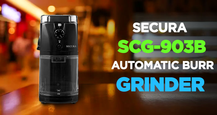 Secura Automatic Electric Burr Coffee Grinder Mill Review