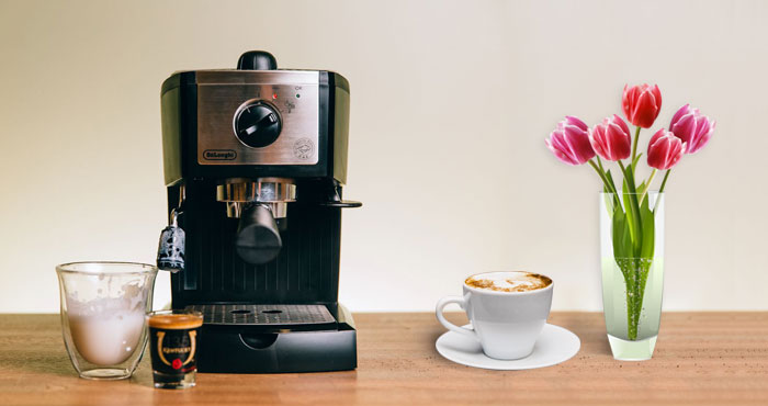 DeLonghi EC155 Espresso and Cappuccino Maker Review