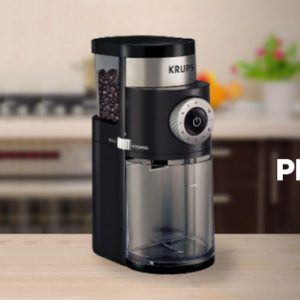 Krups GX5000 Professional Electric Coffee Burr Grinder Review